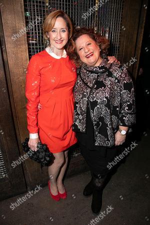 Lauren Ward (Rose Stopnickk Gellman) and Sue Kelvin (Grandma Gellman)