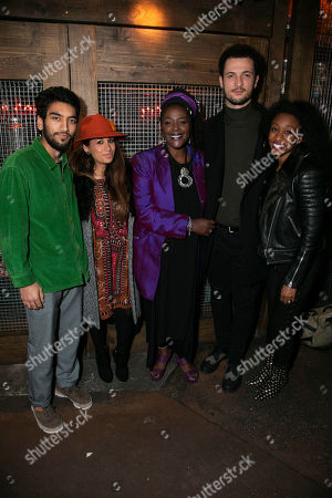 Nabhaan Rizwan, Preeya Kalidas, Sharon D Clarke (Caroline Thibodeaux), Jamael Westman and Beverley Knight