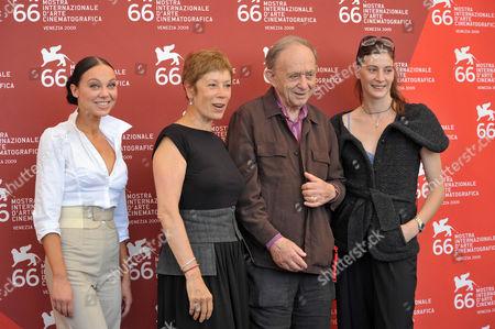 Alexandra Cardinale, Brigitte Lefevre, Frederick Wiseman, Marie Agnes Gillot