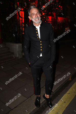 Editorial picture of Annabel's Christmas party, London, UK - 17 Dec 2018