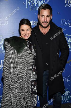 "Gretta Monahan, Ricky Paull Goldin. Gretta Monahan and Ricky Paull Goldin attend a special screening of Disney's ""Mary Poppins Returns"", hosted by The Cinema Society, at the SVA Theatre, in New York"