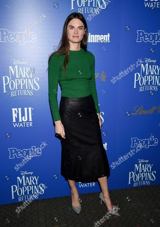 """Anouck Lepere attends a special screening of Disney's """"Mary Poppins Returns"""", hosted by The Cinema Society, at the SVA Theatre, in New York"""