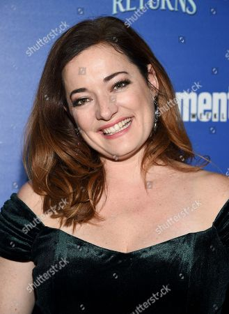 """Stock Photo of Laura Michelle Kelly attends a special screening of Disney's """"Mary Poppins Returns"""", hosted by The Cinema Society, at the SVA Theatre, in New York"""