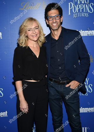 """Stock Picture of Rachel Bay Jones, Benim Foster. Actors Rachel Bay Jones and Benim Foster attend a special screening of Disney's """"Mary Poppins Returns"""", hosted by The Cinema Society, at the SVA Theatre, in New York"""