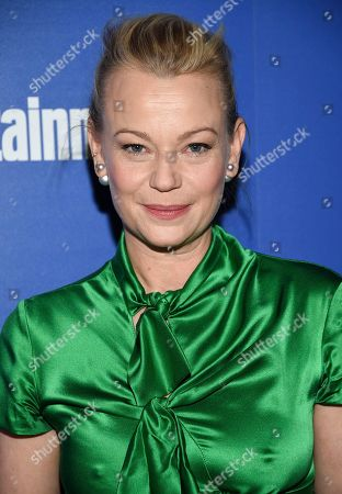 """Samantha Mathis attends a special screening of Disney's """"Mary Poppins Returns"""", hosted by The Cinema Society, at the SVA Theatre, in New York"""