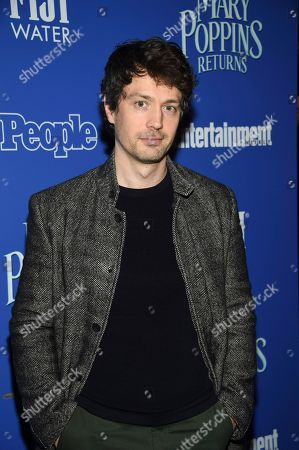 """Christian Coulson attends a special screening of Disney's """"Mary Poppins Returns"""", hosted by The Cinema Society, at the SVA Theatre, in New York"""