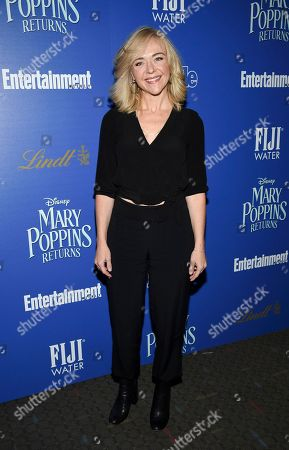"Rachel Bay Jones attends a special screening of Disney's ""Mary Poppins Returns"", hosted by The Cinema Society, at the SVA Theatre, in New York"
