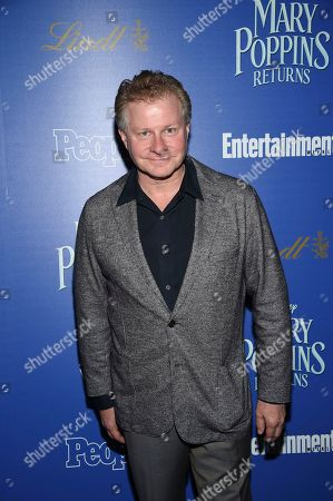 """David Magee attends a special screening of Disney's """"Mary Poppins Returns"""", hosted by The Cinema Society, at the SVA Theatre, in New York"""