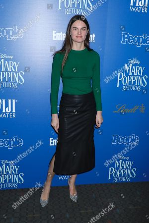 Editorial photo of 'Mary Poppins Returns' film screening, Arrivals, New York, USA - 17 Dec 2018
