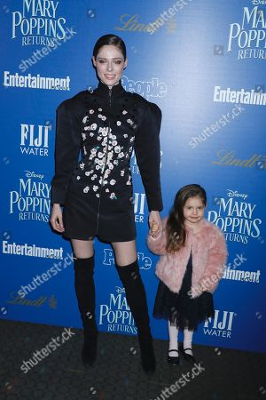 Editorial photo of 'Mary Poppins Returns' film screening, Arrivals, New York, USA - 17 Dec 2018