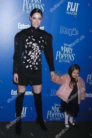 Coco Rocha and daughter Ioni James Conran