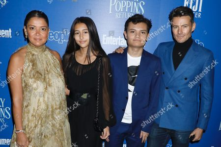 Editorial picture of 'Mary Poppins Returns' film screening, Arrivals, New York, USA - 17 Dec 2018