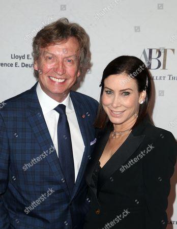 Nigel Lythgoe and Sydney Holland