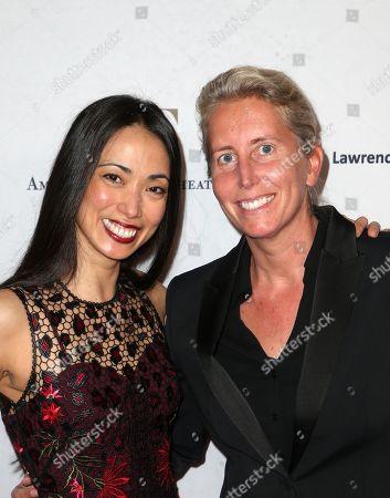 Stock Photo of Stella Abrera and Anita Elberse