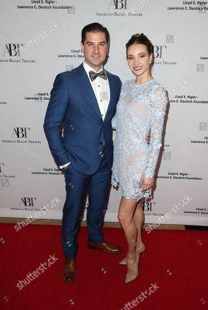Stock Picture of Alex DiMattia and Christine Shevchenko