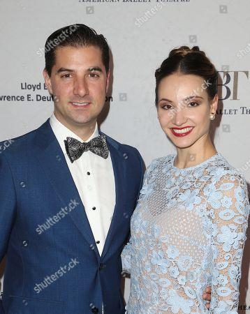 Stock Photo of Alex DiMattia and Christine Shevchenko