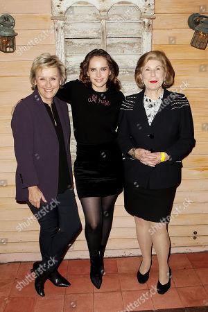Tina Brown, Felicity Jones, Nina Totenberg