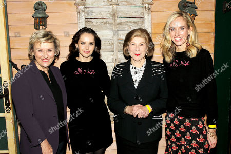 Tina Brown, Felicity Jones, Nina Totenberg, Rachelle Hruska