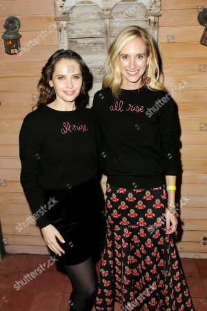 "Editorial image of Women In The World Movie Night Presents New York Screening of Focus Features ""On The Basis Of Sex"", New York, USA - 17 Dec 2018"
