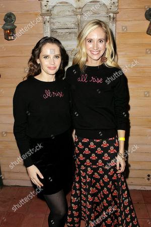 Felicity Jones, Rachelle Hruska
