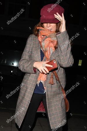 Stock Photo of Catherine Tate at BBC Radio 2