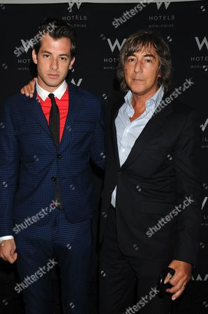Mark Ronson and father Laurence Ronson