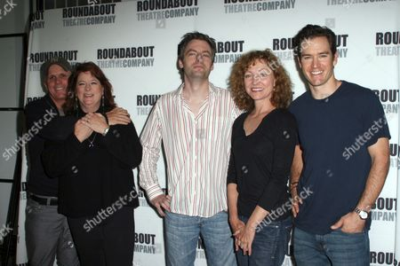 Scott Ellis, Theresa Rebeck, Justin Kirk, Julie White, Mark-Paul Gosselaar