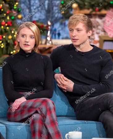 Stock Picture of Poppy Lee Friar and Will Tudor