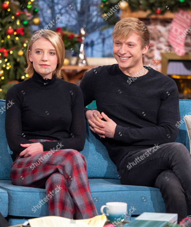 Stock Image of Poppy Lee Friar and Will Tudor