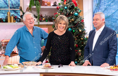 Brian Turner, Ruth Langsford and Eamonn Holmes