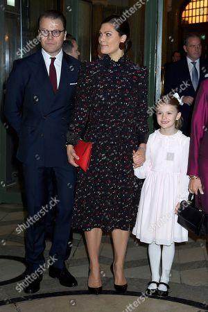 Prince Daniel, Crown Princess Victoria, Princess Estelle