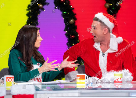 Stacey Solomon and Christopher Maloney