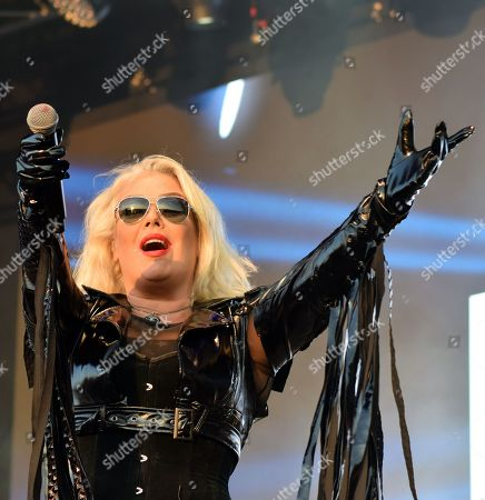 Stock Photo of Kim Wilde