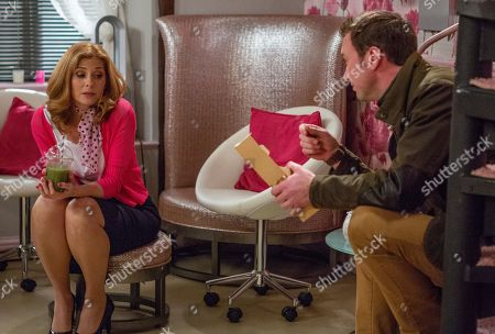 Ep 8364 Thursday 10th January 2019 - 2nd Ep Firm Diane assures Bernice Blackstock, as played by Samantha Giles, that she will have to pull her weight and pay for the B&B if she plans on staying there. Later, seething Bernice rants to Liam Cavanagh, as played by Jonny McPherson, about her living situation but she's all ears when Liam comes up with a solution that could benefit them all.