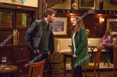 Ep 8364 Thursday 10th January 2019 - 2nd Ep In an attempt to make Debbie Dingle, as played by Charley Webb, forget about Joe, Cain plays cupid with her and a client.