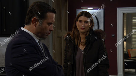 Ep 8367 Tuesday 15th January 2019 Debbie Dingle, as played by Charley Webb, decides to confront Graham Foster, as played by Andrew Scarborough. He is floored when she reveals Joe is dead and he questions her reasons.