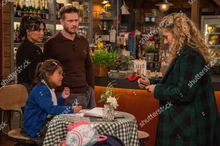 Ep 8367 Tuesday 15th January 2019 In an attempt to impress Maya, as played by Louisa Clein, Jacob sends her a topless selfie but she's just amused at his innocence. Jacob is fed up to see he's had no reply and the next day, Maya is horrified to realise Jacob has sent her another photo and she has left her phone in the shop. At the shop Priya Sharma, as played by Fiona Wade, is left suspicious when a frantic Maya snatches her phone away from Amba in front of David Metcalfe, as played by Matthew Wolfenden.