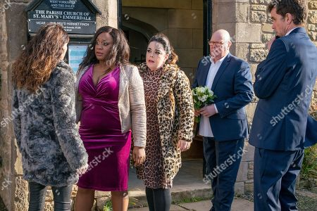 Ep 8359 Monday 7th January 2019 A vulnerable Chas Dingle, as played by Lucy Pargeter, leaves a message on Paddy Kirk's, as played by Dominic Brunt, phone - feeling the strain she sets off to find him. However, all hell breaks loose as an emotional Chas finally snaps and attacks Mandy, as played by Lisa Riley, as Jesse Grant, as played by Sandra Marvin, steps in.