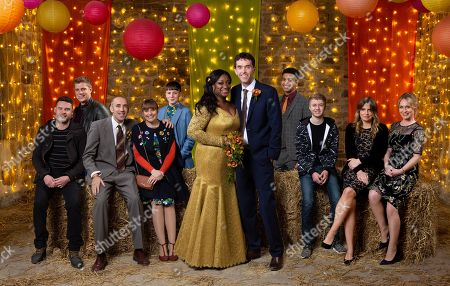 Robert Sugden, as played by Ryan Hawley ; Aaron Livesy, as played by Danny Miller ; Sam Dingle, as played by James Hooton ; Lydia, as played by Karen Blick ; Jessie Grant, as played by Sandra Marvin ; Marlon Dingle, as played by Mark Charnock ; Ellis Chapman, as played by Asan N'Jie ; Noah Dingle, as played by Jack Downham ; Charity Dingle, as played by Emma Atkins ; Vanessa Woodfield, as played by Michelle Hardwick.