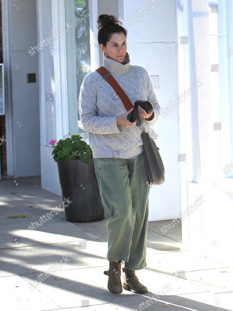 Editorial picture of Jami Gertz out and about, Los Angeles, USA - 17 Dec 2018