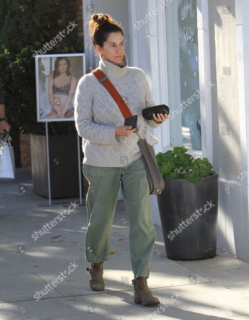 Editorial photo of Jami Gertz out and about, Los Angeles, USA - 17 Dec 2018