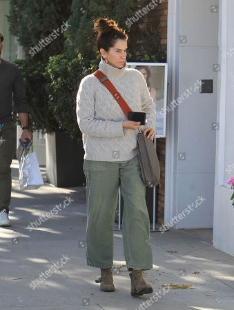 Editorial image of Jami Gertz out and about, Los Angeles, USA - 17 Dec 2018