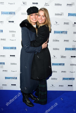 Stock Picture of Isabella Calthorpe and Cressida Bonas