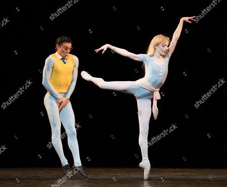 Melissa Hamilton as The Ballerina, Paul Kay as Shy Boy