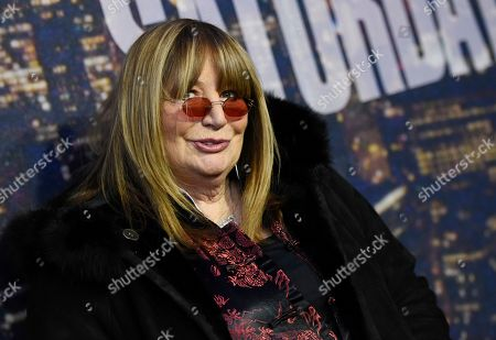 Penny Marshall attends the SNL 40th Anniversary Special in New York. Marshall died of complications from diabetes, at her Hollywood Hills home. She was 75