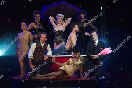 Stock Picture of Fancy Chance, Kelly Wolfgramm, Paul Zenon, Mosh, Stephen Williams, Heather Holliday, Bernie Dieter, Florian Brooks