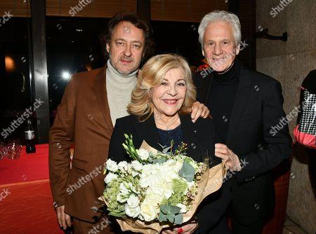 Stock Picture of Jean Christophe Molinier, Nicolandta and Gerard Lenorman