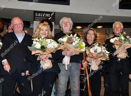 Editorial picture of Gala in honor of Pierre Delanoe, Paris, France - 18 Dec 2018