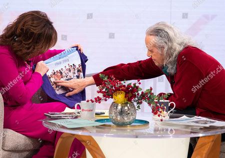 Editorial photo of 'Lorraine' TV show, London, UK - 19 Dec 2018