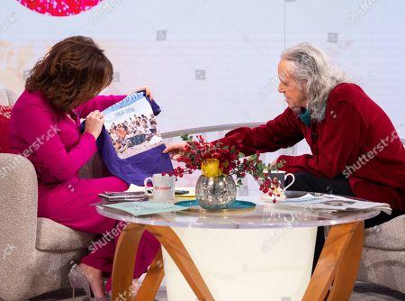 Editorial image of 'Lorraine' TV show, London, UK - 19 Dec 2018